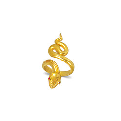Euryale Snake Ring