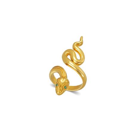 Stheno Snake Ring