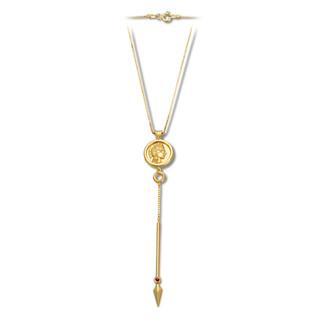 Athenas Spear Necklace