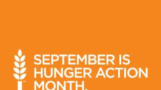 How to get involved with Hunger Action Month