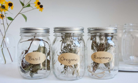 How to Dry and Store Fresh Garden Herbs