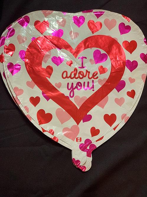 18'' Mylar Valentines Day