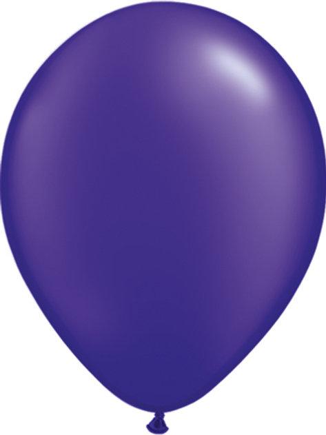 """11"""" Qualatex Pearl Quartz Purple Latex"""