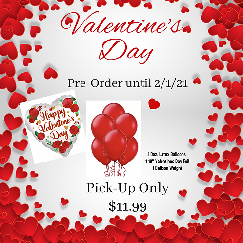 V-Day (Pick-up) Balloon Special