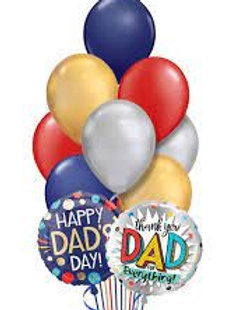 Small Fathers Day Balloon Bouquet