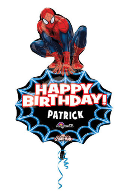 "33"" SPIDERMAN PERSONALIZE IT BALLOON"