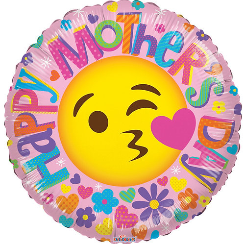 """18"""" HAPPY MOTHER'S DAY SMILE FACE"""