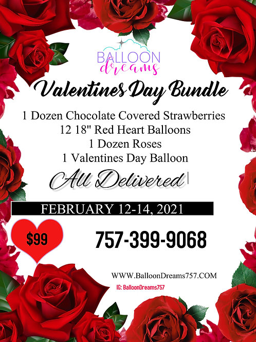 $99 Valentines Day Package