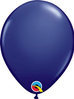 "11""Qualatex Navy Blue Latex Balloons"