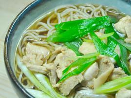 Kashiwa-Soba (Chicken Soba)