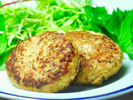 Tofu Hamburger Steak