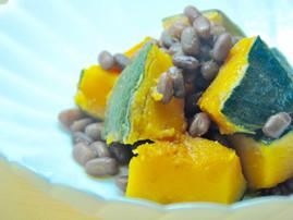 Sweet Stewed Adzuki and Pumpkin