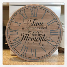 time is not measured by clocks