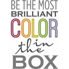 be the most brilliant color
