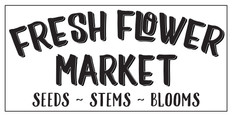 fresh flower market