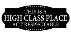 high class place
