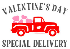 valentine's delivery