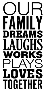 our family dreams together