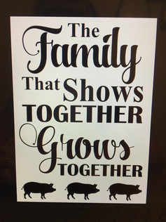 the family that shows together