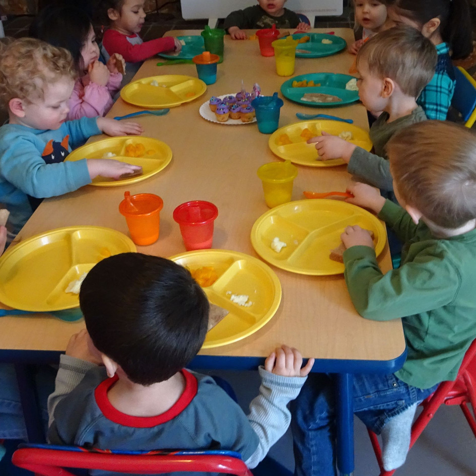 Coming together as a family at Jills Daycare and Preschool