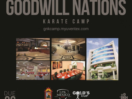 Goodwill Nations Karate Camp