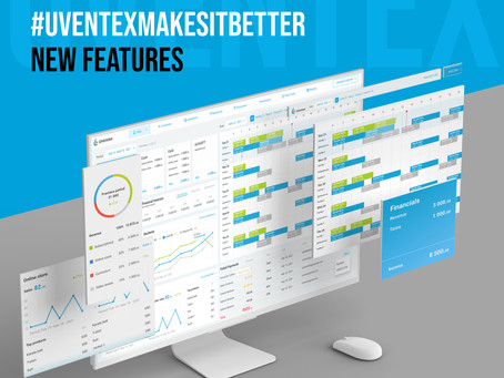 #uventexmakesitbetter. NEW FEATURES