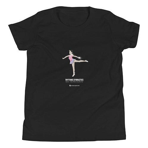Kids 100% Cotton T-Shirt Gymnastics Collection