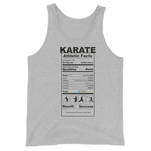 Adult & Teen 100% Cotton Tank Top Karate Collection