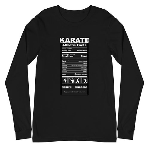 Adult Long Sleeve Tee Karate Collection