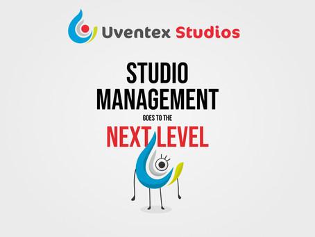 UVENTEX STUDIO: studio management goes to the next level