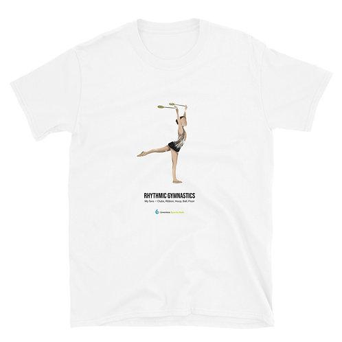 Adult & Teen 100% Cotton T-Shirt Gymnastics Collection