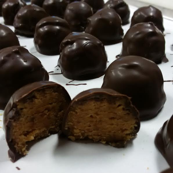 peanut butter truffles 8