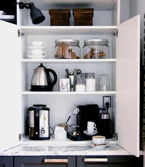 coffee cupboard