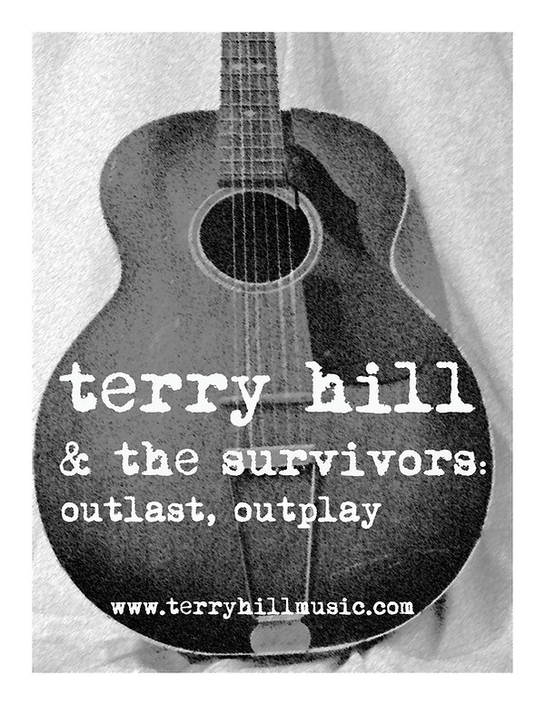 Terry Hill & the Survivors Tshirt