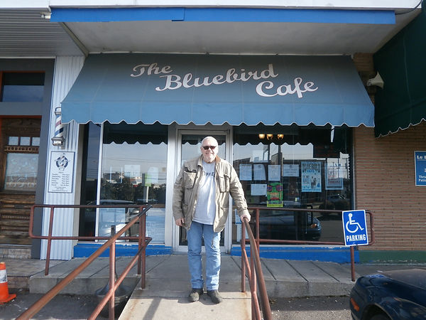 Terry Hill at the Bluebird Cafe, Nashville