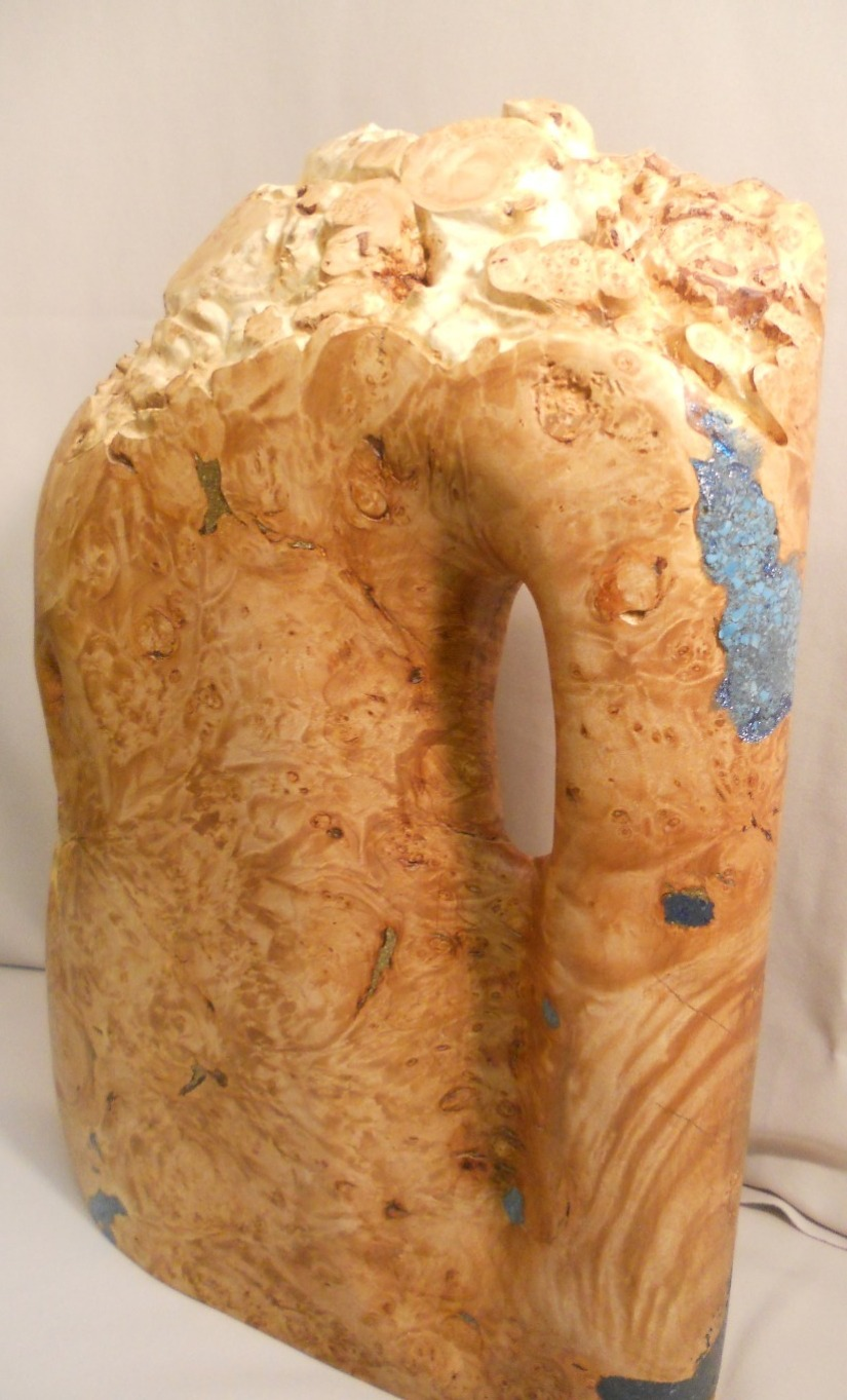 Maple Burl Sculpture