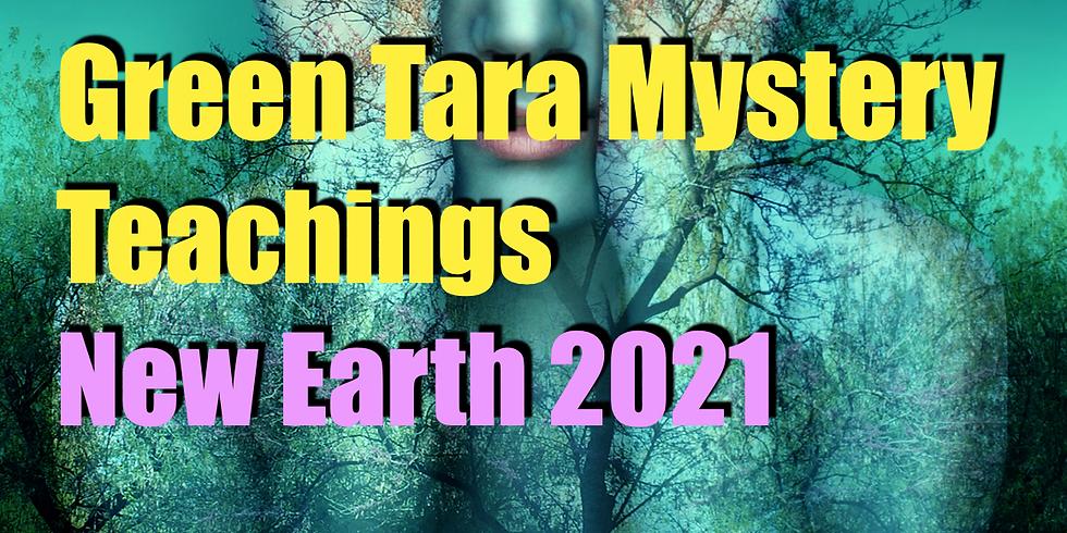 Green Tara Mystery Teachings for New Earth 2021