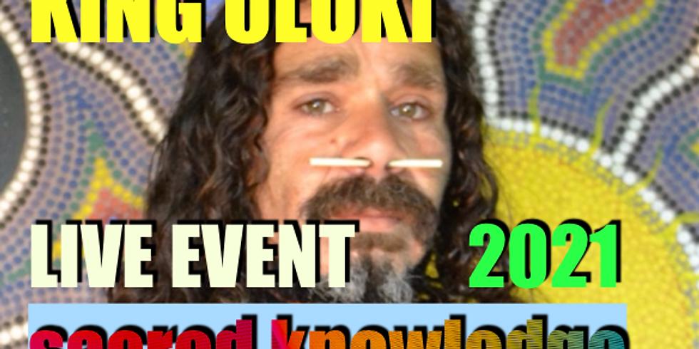 Uluki Aboriginal King of Raven Tribe - Celestial Changes 2021