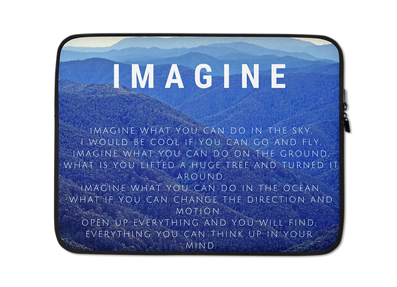 """Imagine"" Laptop Sleeve"