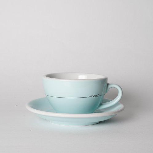"Knockbox original cappuccino cup 200ml ""river blue"""