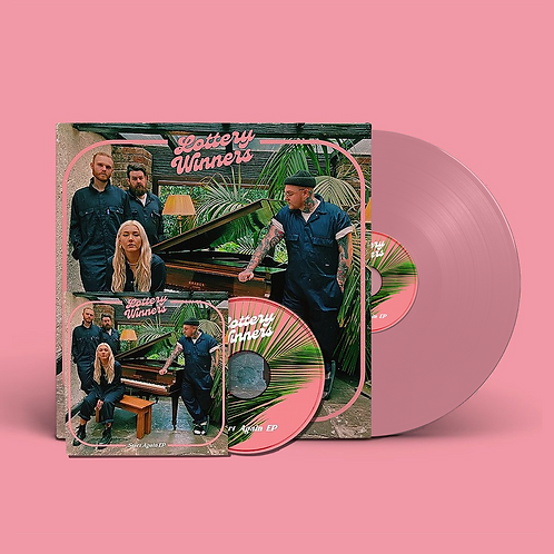 "Start Again 12"" Pink Vinyl & CD Bundle"