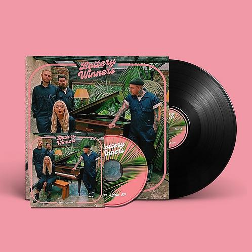 "Start Again 12"" Vinyl & CD Bundle"