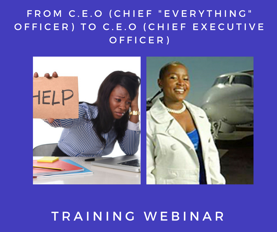 CEO TO CEO_Webinar Training