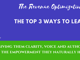 THE TOP 3 WAYS TO LEAD A LEADER