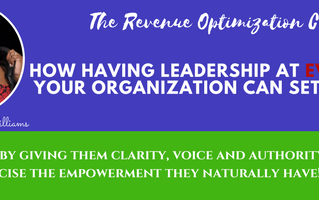 Do you have leaders at every level in your company and NOT just at the top?