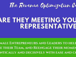 ARE THEY MEETING YOU OR YOUR REPRESENTATIVE?