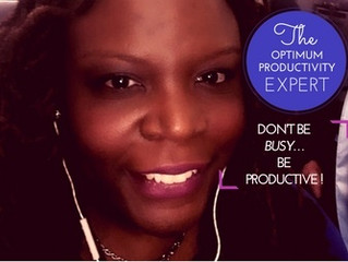 """DON'T BE """"BUSY"""" BE PRODUCTIVE!!"""