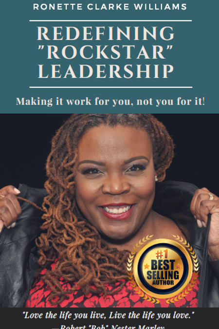 Redefining ROCKSTAR Leadership Book - Signed