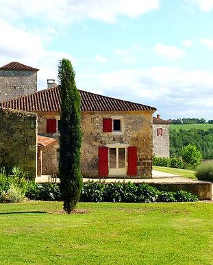 Château de Poudenas - Location gite sud ouestle Bastion du Prince Noir