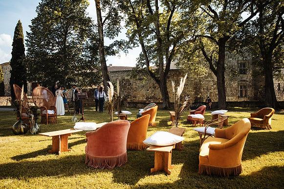 Evenements Chateau de poudenas : mariage location sud ouest